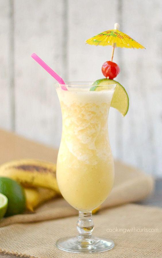 Frozen Banana Daiquiri