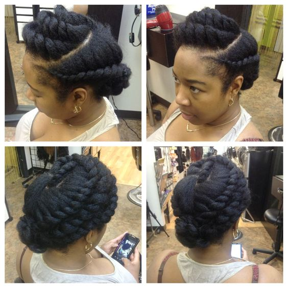 protective styles for natural hair with extensions protective style flat twists all around twist and braids 5837 | 6354af8e83e516a110cda6eb2d0e7a6c