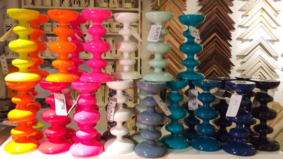 These new candle stick holders are brightening up our day here in Kings Framers!