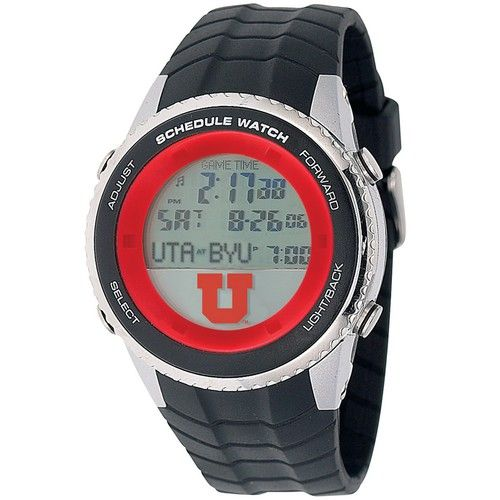 University of Utah Utes Mens Schedule Wrist Watch