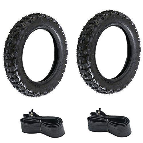 Jcmoto 2 Sets Of 30010 8010010 Motorcycle Tire And Inner Tube For Honda Xr Crf 70 50 Xr50 Sdg Ssr Dirt Pit Bike Scooters Fin Motorcycle Tires Pit Bike Bike