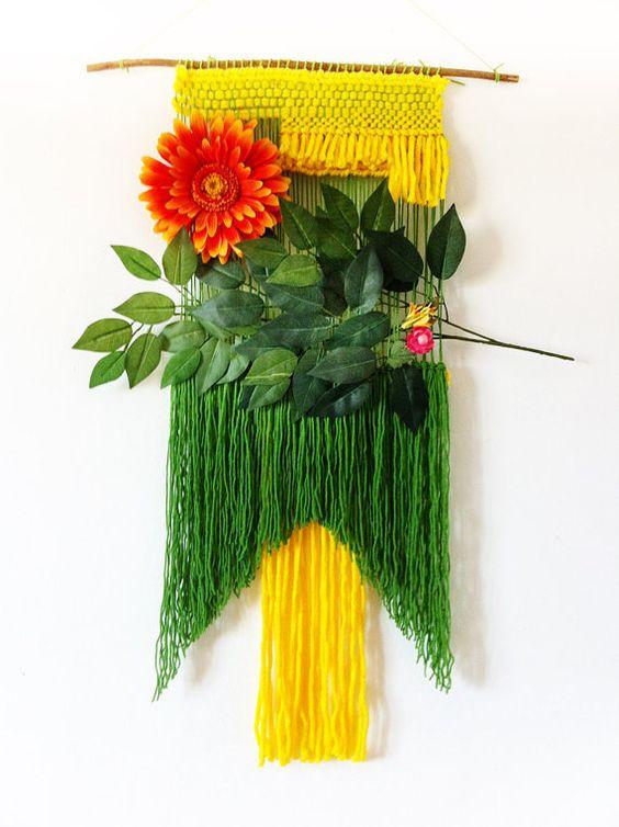 ❤❤❤ OOAK Weaving Wall Hanging by Heartmade ❤❤❤