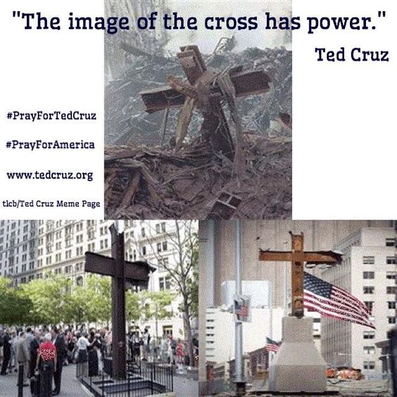 Ted Cruz defended the right to display the cross before the Supreme Court and won; Ted Cruz is a believer in the Word of God and a doer; every person of faith has a reason to vote; TED CRUZ FOR PRESIDENT !!!!!