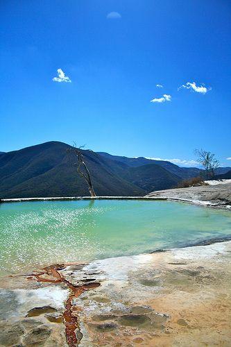 Hierve el Agua, Oaxaca, México