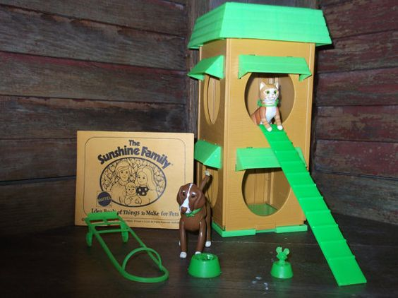 1976 Mattel The Sunshine Family Pets and Their by alookbackvintage