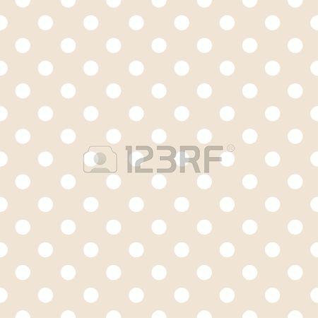 Lunares blancos sobre fondo de color beige claro neutral - Color beige claro ...