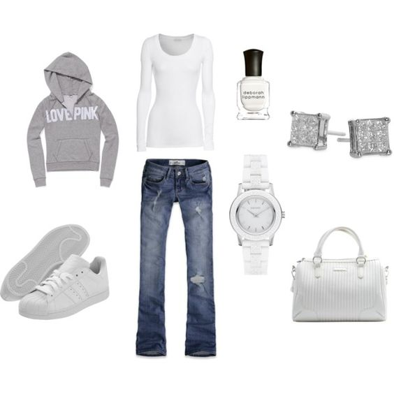 Love this casual look...