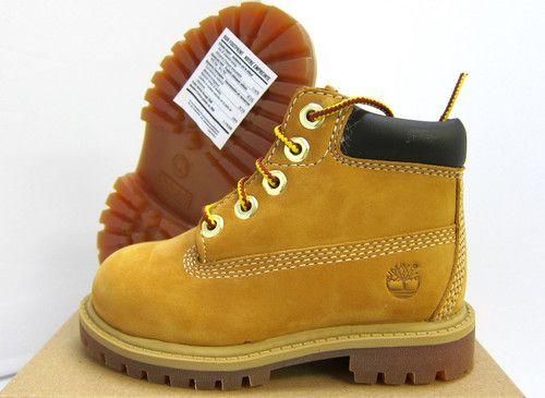 """New Baby Timberland 6"""" Waterproof Premium Wheat Boot 12809 Toddlers   eBay"""