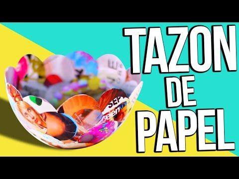 ABURRID@?...HAZ TAZONES DE PAPEL! ✰ ORGANIZA TU CUARTO - YouTube