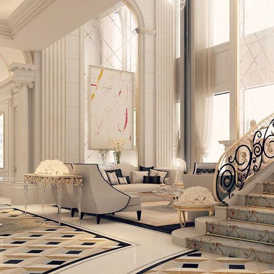 Foyer Decor Qatar : Doha dubai and lobby design on pinterest