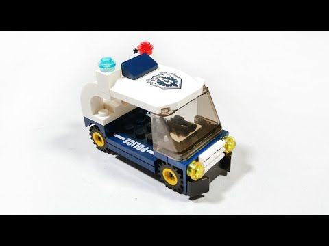 Lego Police Cruiser Tutorial Cara Membuat Mainan Lego Polisi Qman Youtube Lego City Lego Mobil Polisi