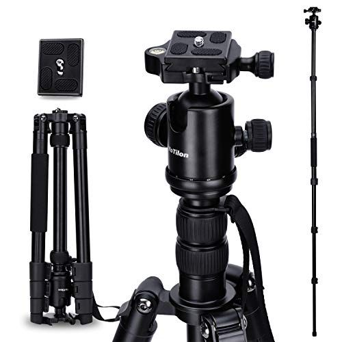 Quick Release Plate for Tripod Ball Head Shoulder Support System 1//4 Inch