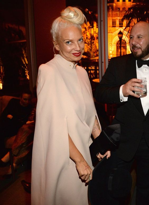 Pin for Later: See Which Stars Let Their Hair Down at Vanity Fair's Oscars Afterparty! Sia