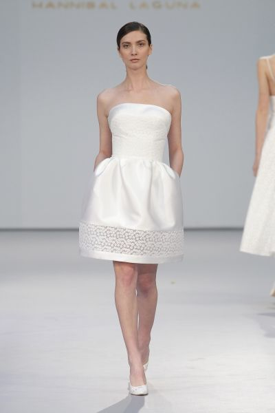 Entdecken Sie kurze Brautkleider 2017: Hinreißende Modelle für traumhafte Beine Image: 28