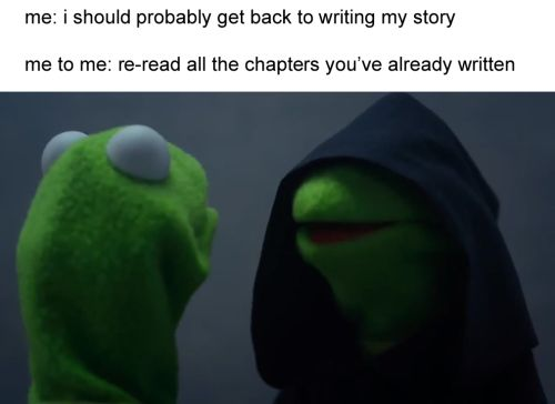 I do this aaaaallll the tiiiimmmmeee. I just  enjoy reading my writing so much that I need it. Also, I forget what I wrote 20 minutes ago, so refresh: