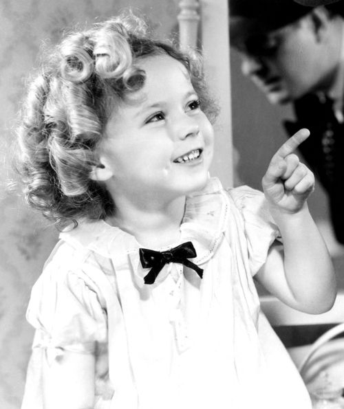Shirley Temple in Baby Take A Bow, 1934.