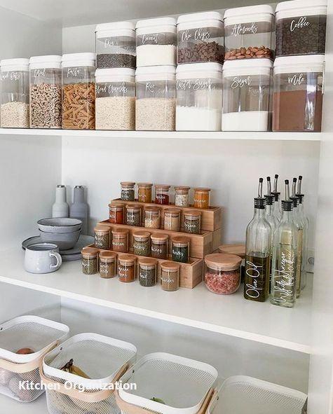 15 Creative Diy Storage And Organization Ideas For Small Kitchens 2 Kitchen Organization Diy Pantry Organisation Kitchen Design Diy