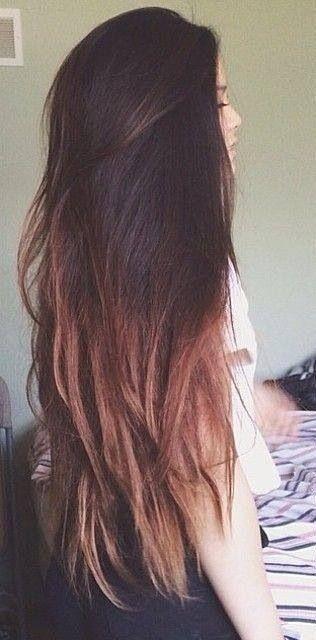 mechas californianas en cabello oscuro - Buscar con Google
