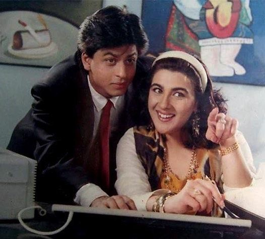 "1 Likes, 1 Comments - muvyz.com (@muvyz) on Instagram: ""#HappyBirthday # AmritaSingh #BollywoodFlashback #90s #Shahrukh… 