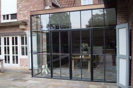 Ramen steel doors and irons on pinterest - Arbor pergola goedkoop ...