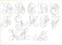 Resultado de imagem para alfabeto para bordar em pontos variados