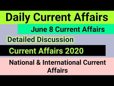 Pin On Daily Current Affairs 2020