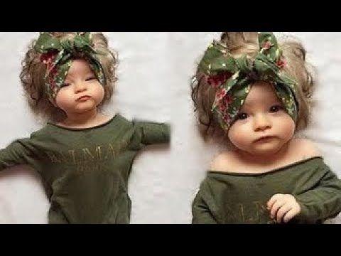 ملابس اطفال حديثي الولادة ازياء بنات اولاد 2018 Baby Face Face Youtube