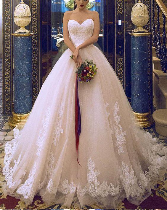 Sweetheart Neckline Wedding Dresses Ball Gown Wedding Dress With Ball Gowns Wedding Wedding Dress Necklines Ball Gown Wedding Dress