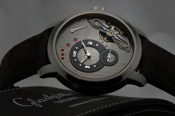 A Glashütte Original timepieces, the Panoinverse XL