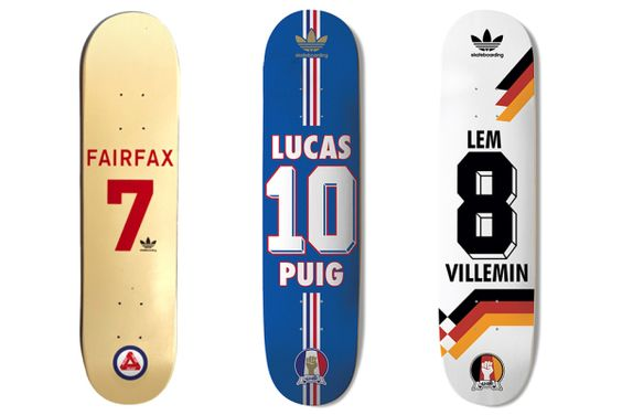 adidas Skateboarding Presents The Skate Copa Deck Collection