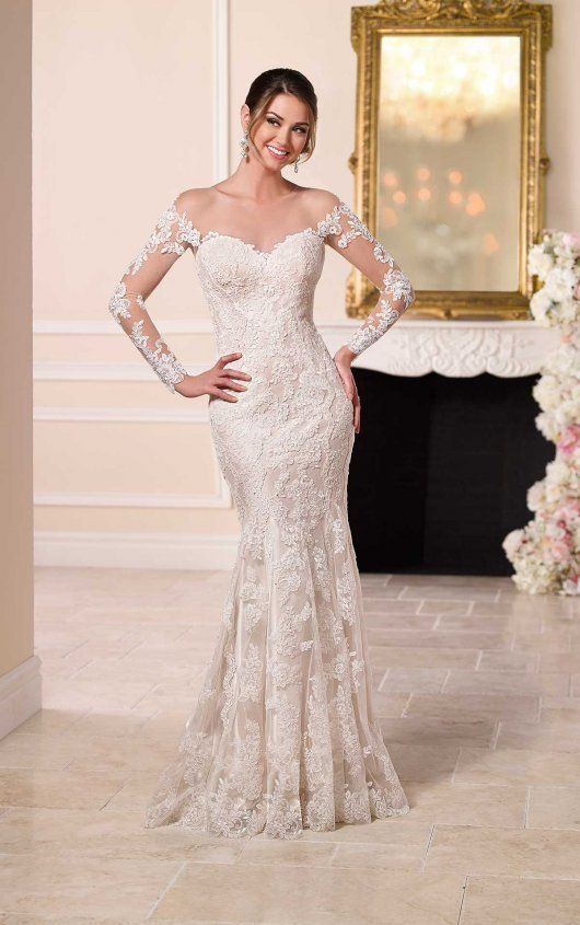 Wedding Dresses Bridal Gowns Find Your Dress At Philly Bridal In 2020 Backless Lace Wedding Dress Wedding Dresses Lace Wedding Dress Long Sleeve