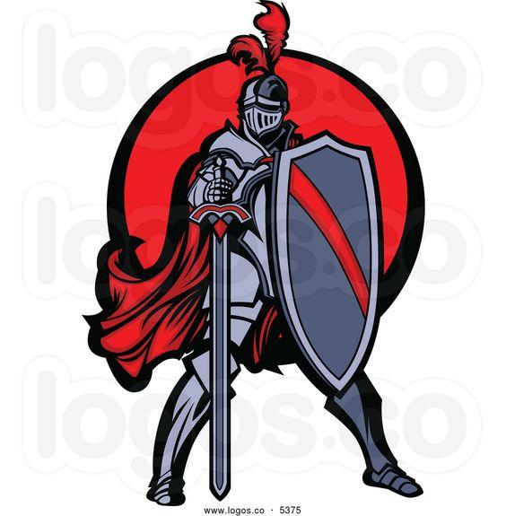 knightclipartroyaltyfreevectorofalogoofamedieval