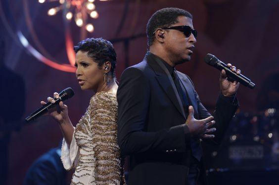 Toni Braxton And Babyface | GRAMMY.com: Music Legends, Babyface Grammy, Hair Styles, Celebritys Relationship, Musical Giants, Curls Waves, Music Feels, Loving Toni S