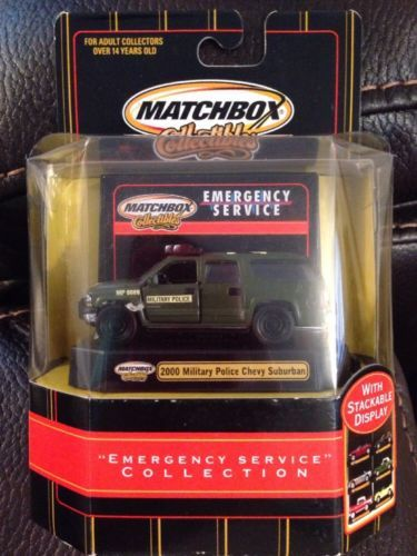 Matchbox Collectible 2000 Military Chevy Suburban - http://hobbies-toys.goshoppins.com/diecast-toy-vehicles/matchbox-collectible-2000-military-chevy-suburban/