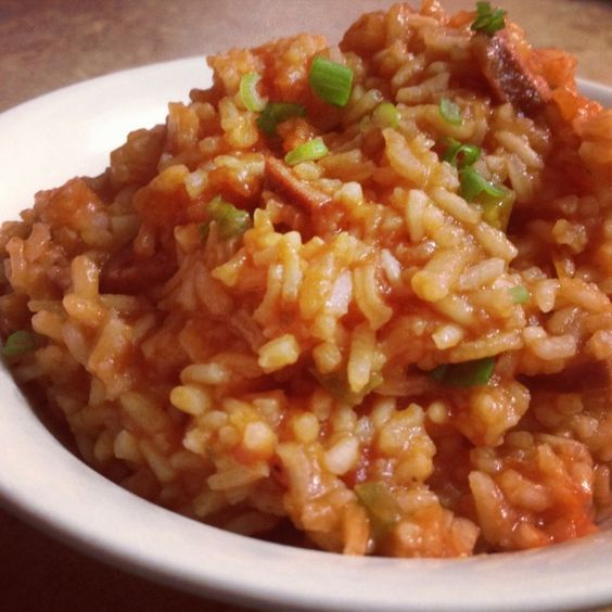 Red Rice and Sausage