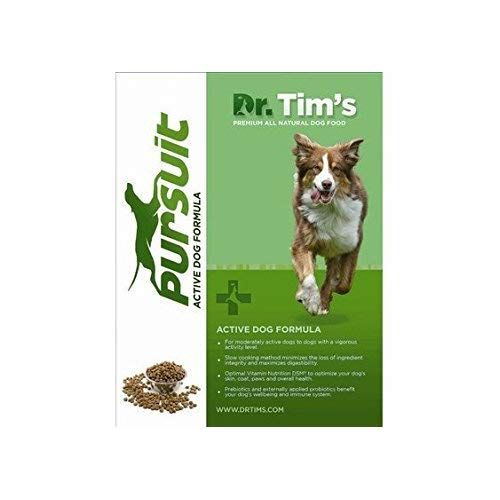 Dr Tim S Premium All Natural Pet Food Pursuit Active Dog Formula
