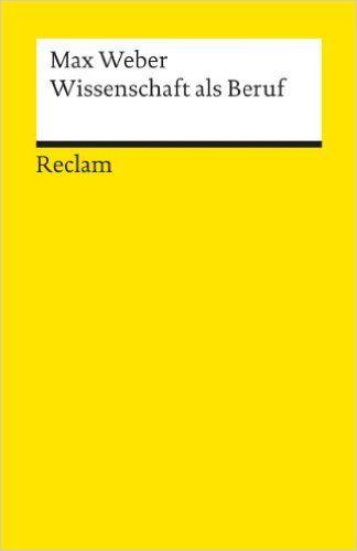 Wissenschaft als Beruf: Amazon.de: Bücher