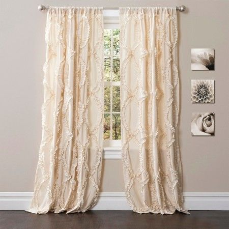 Curtains Ideas 54 curtain panels : Lush Decor© Avon Curtain Panel - Ivory (84 | LUSH, Target and Avon