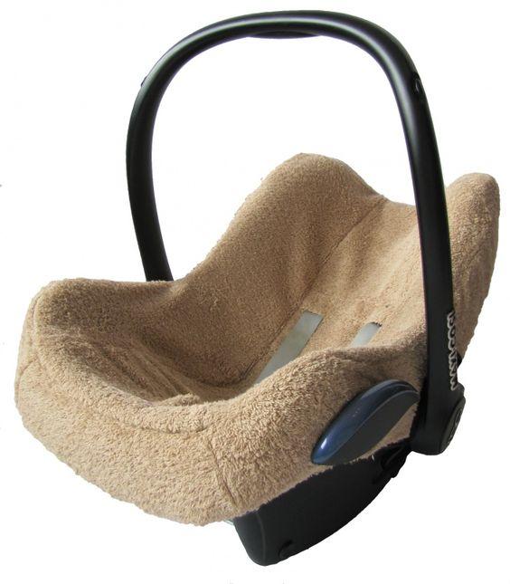 maxi cosi hoes badstof beige summerbezug bezug babyschale. Black Bedroom Furniture Sets. Home Design Ideas