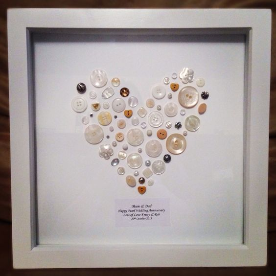 Ideas For Pearl Wedding Anniversary Gifts: Pearl Weeding Anniversary Gift. I Was Stuck On What To Buy