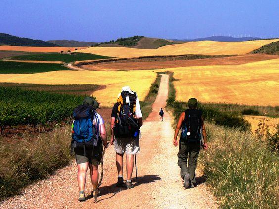 expeditions spain walking camino photos