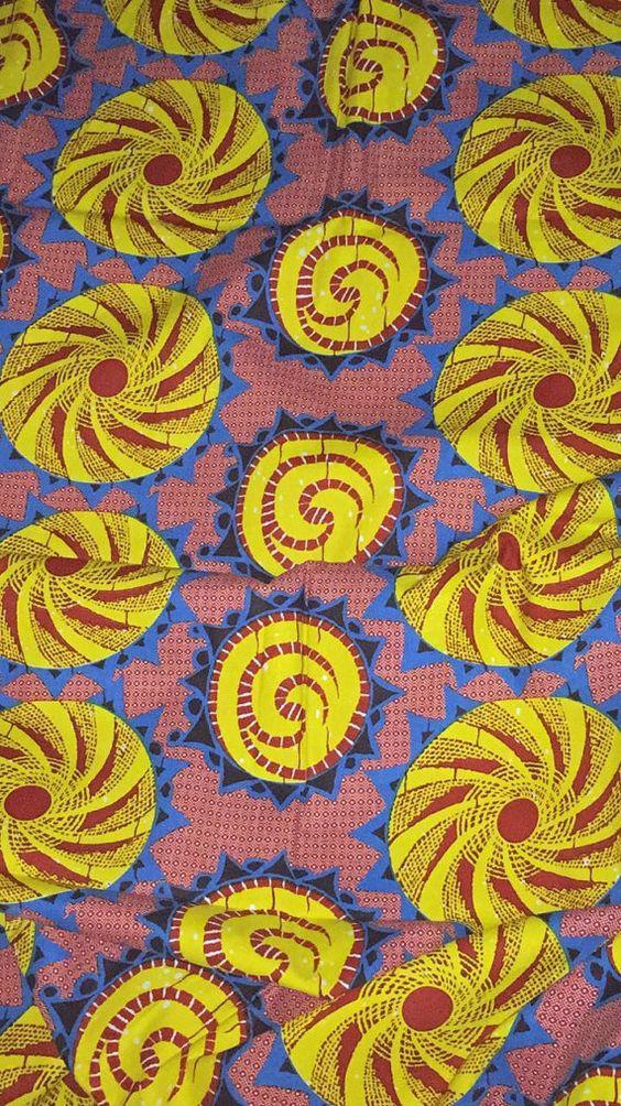 Ankara fabric by ThreadsofAfrica on Etsy