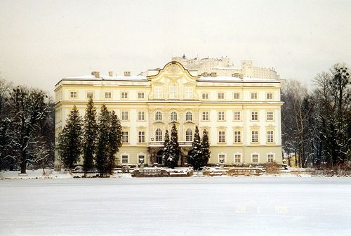 Palace in the winter