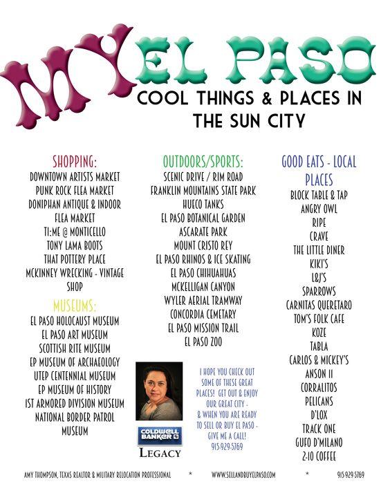 MY EL PASO -Things to do In El Paso,TX