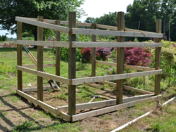 Awesome tutorial for building a goat or mini donkey shelter