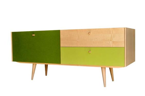 Wooly Media Cabinet by Iannone Design