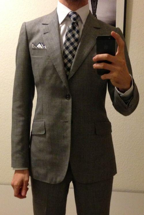 Never Enough Grey Suit