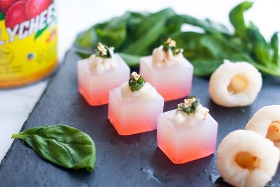 """""""Did you spike it well?"""" my friend asked ashe watched me cut my Lychee Martini Jelly Shots into dainty cubes. """"You bet,"""" I replied. Wedon't cut corners when it comes…"""