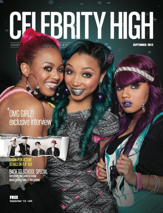 The Omg Girlz Are All Grown Up On The Cover Of Nick Cannons Magazine Celebrity Highand Thats Celebrity Highas In Black Celebrity Kids Omg Girlz Celebrity Kids