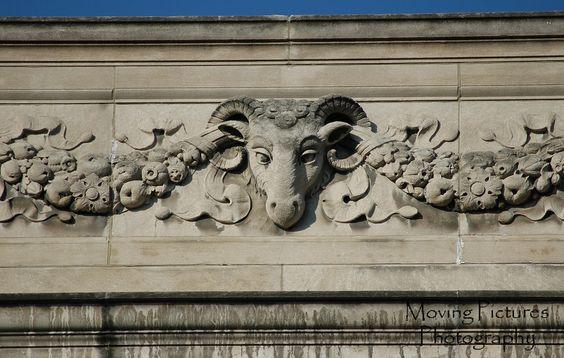 Queen City Club - detail near roof